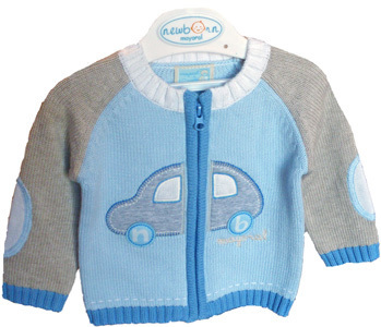 Mayoral Jungen Strickjacke Auto