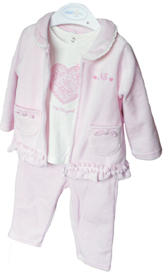 Baby-Set 3 tlg. rosa Mayoral