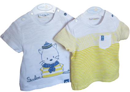 Baby T-Shirts Doppelpack Mayoral