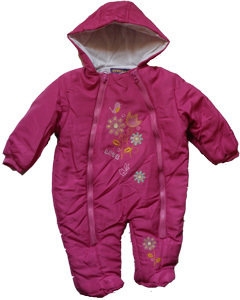 Schneeoverall pink