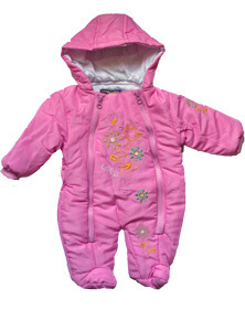 Schneeoverall rosa