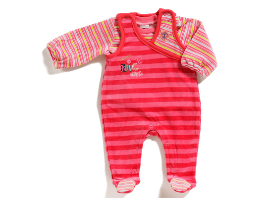 Baby Nicki-Strampler-Set Happy Cute
