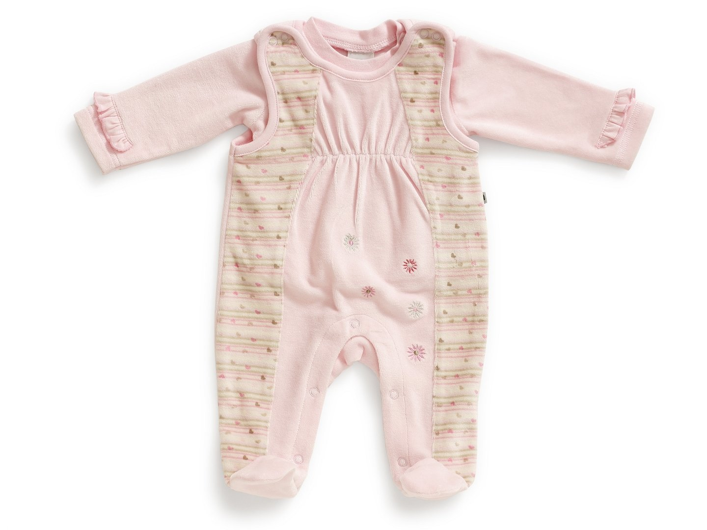 Baby Nicki-Strampler-Set Mini Princess